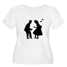Couple Dancing Plus Size T-Shirt