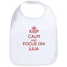 Keep Calm and focus on Julia Bib