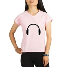 Headphones Performance Dry T-Shirt