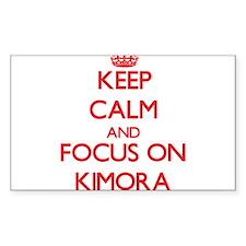 Keep Calm and focus on Kimora Decal