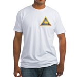 Masonic LoP 14th Fitted T-Shirt