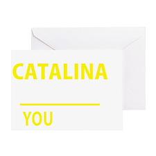 Funny Catalina Greeting Card