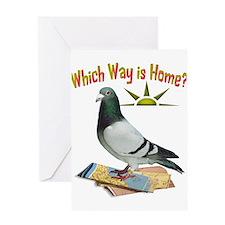 Cute Humorous bird Greeting Card