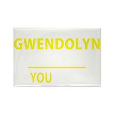 Unique Gwendolyn Rectangle Magnet