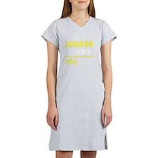 Cute Jenifer Women's Nightshirt