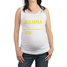 Funny Juliana Maternity Tank Top