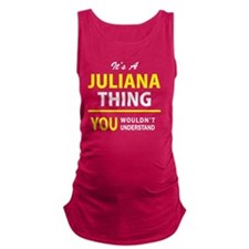 Unique Juliana Maternity Tank Top
