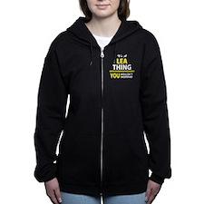 Cute Lea Women's Zip Hoodie