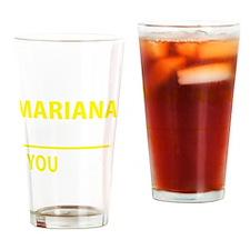 Funny Mariana Drinking Glass