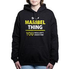 Cute Maribel Women's Hooded Sweatshirt