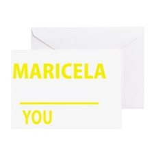 Cute Maricela Greeting Card
