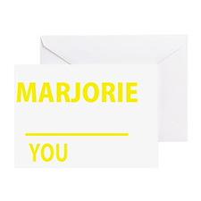 Cute Marjorie Greeting Card