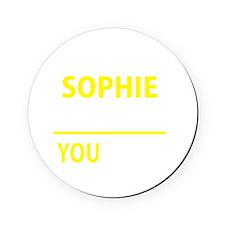 Unique Sophie Cork Coaster