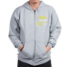 Funny Tracy Zip Hoody