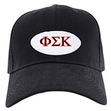 Phi Sigma Kappa White Patch on Baseball Cap