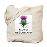 Flower of Scotland Tote Bag