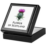 Flower of Scotland Keepsake Box
