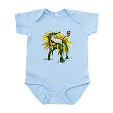 Cute Cartoon frog Infant Bodysuit