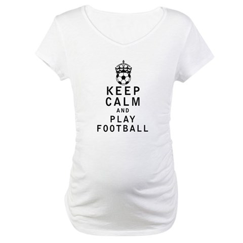 Keep Calm and Play Football Shirt
