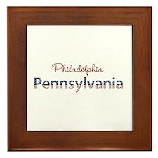 Custom Pennsylvania Framed Tile