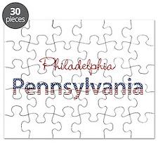 Custom Pennsylvania Puzzle