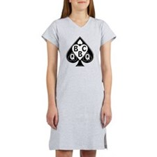 Queen of Spades Loves BBC Women's Nightshirt