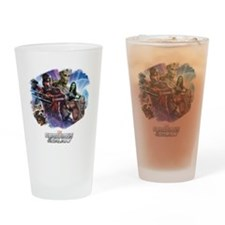 Guardians of the Galaxy Brush Drinking Glass