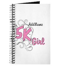 Customize 5k Girl Journal