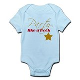 Party like a Rock Star Infant Onesie
