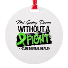 Cure Mental Health Ornament