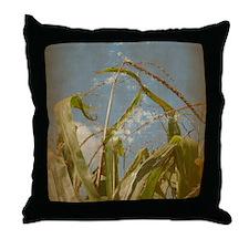 Funny Grunge art photography Throw Pillow