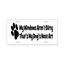 Cute Pets Aluminum License Plate