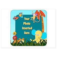 Jungle Cutouts Invitations