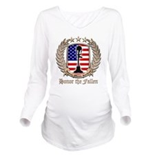 Honor the Fallen – Crest Long Sleeve Maternity T-S