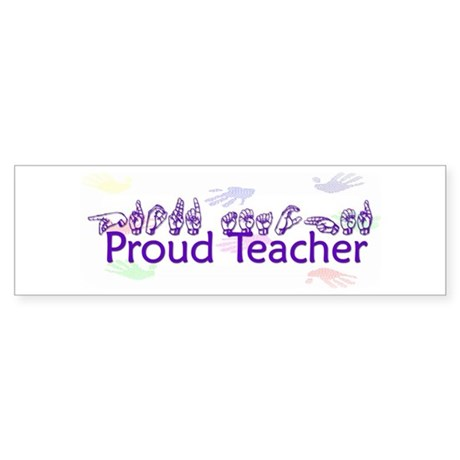 Purple Bumper Sticker