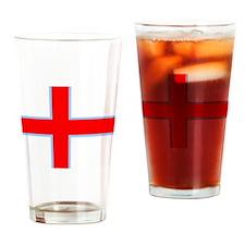 Faroe Island Flag Drinking Glass