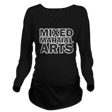 Mixed Martial Arts Long Sleeve Maternity T-Shirt