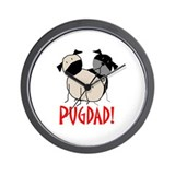 StickPugdad Wall Clock