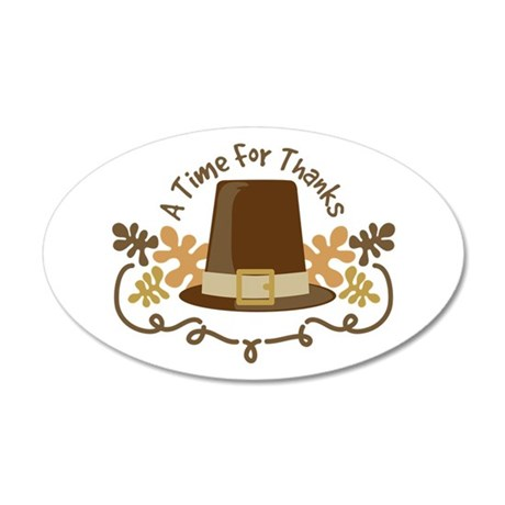 A Time For Thanks Wall Decal