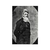 John Brown Rectangle Magnet