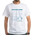 How to Draw a Monkey White T-Shirt