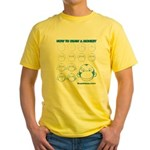 How to Draw a Monkey Yellow T-Shirt