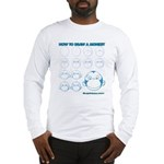 How to Draw a Monkey Long Sleeve T-Shirt