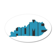 Kentucky Home 20x12 Oval Wall Decal