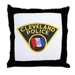 Cleveland Ohio Police Throw Pillow