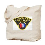 Cleveland Ohio Police Tote Bag