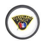 Cleveland Ohio Police Wall Clock