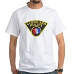 Cleveland Ohio Police White T-Shirt