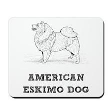 Eskimo Dog Mousepad