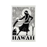 Vintage HAWAII Rectangle Magnet